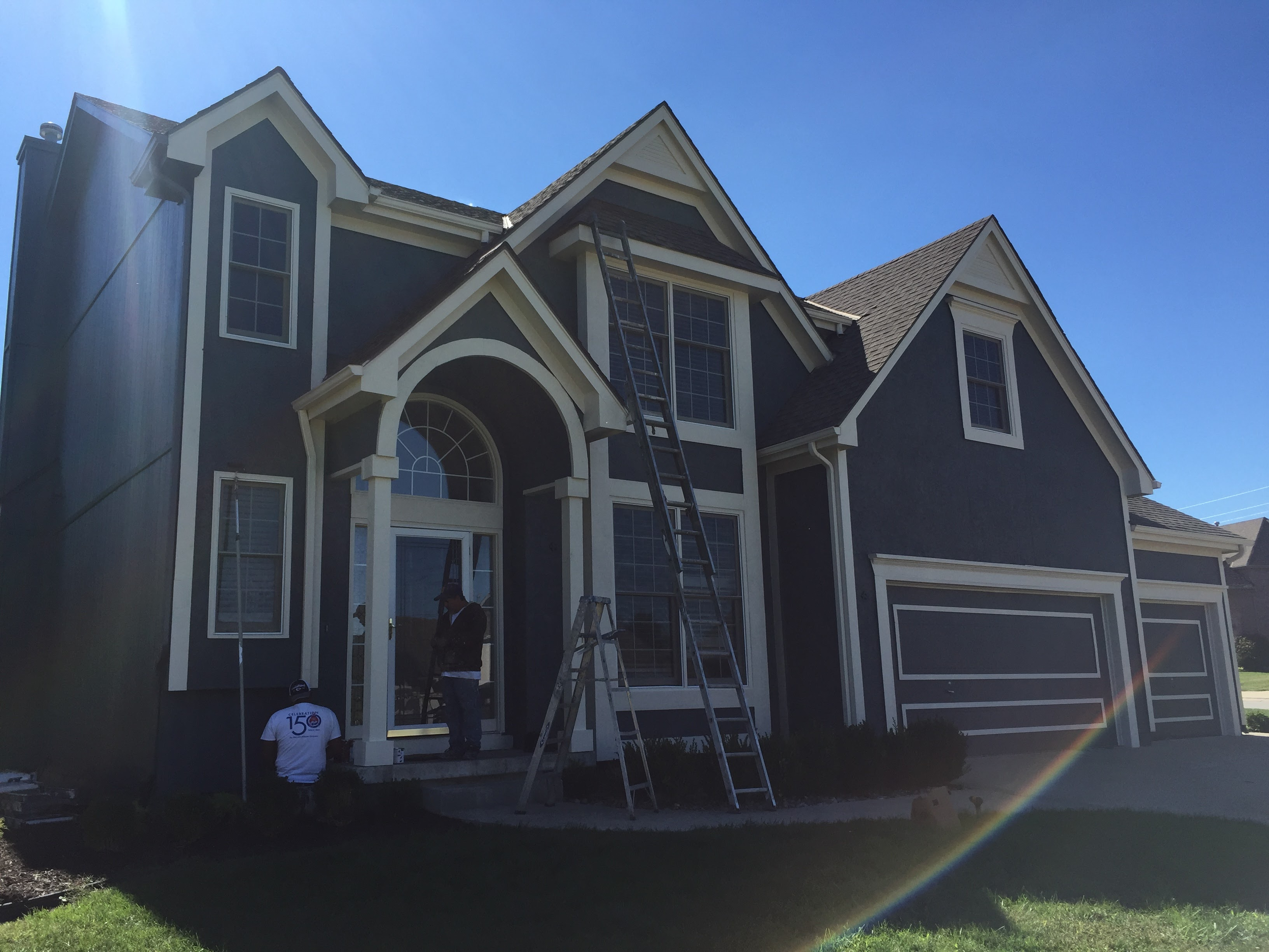 Lee\'s Summit Missouri House Painting Exterior - Aaron\'s Painting and ...