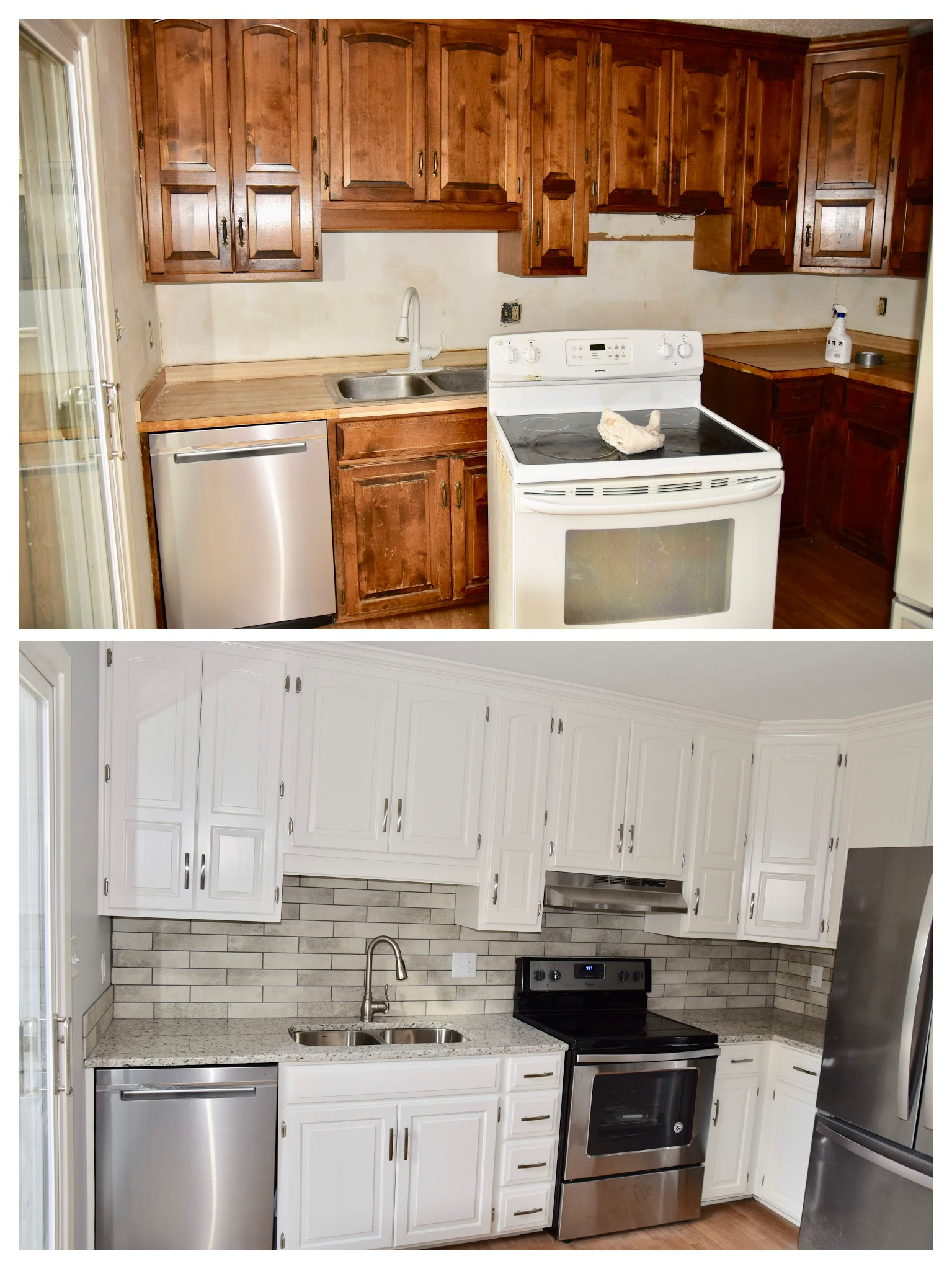 Paint Kitchen Cabinets Lenexa Kansas Aaron S Painting And Remodeling